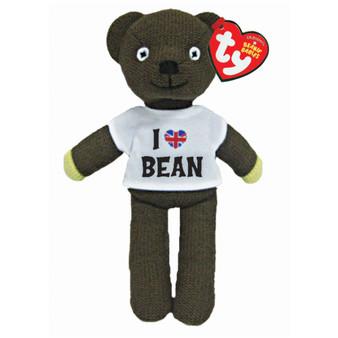 TY Mr Bean in a 'I love Mr Bean' T-shirt