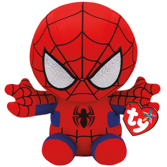 TY Marvel - Small Spiderman Soft Toy