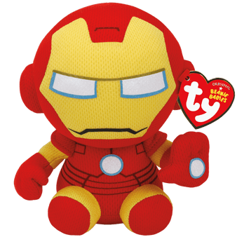 TY Marvel - Small Iron Man Soft Toy