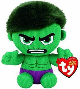 TY Marvel - Small Incredible Hulk Soft Toy