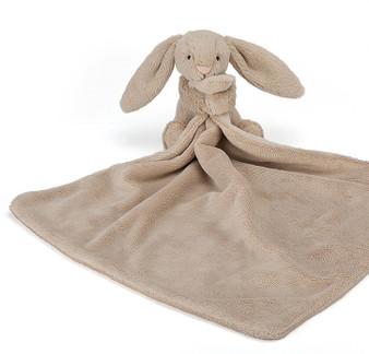 Jellycat Bashful Beige Bunny Soother / Comfort Blanket