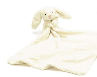 Jellycat Bashful Cream Bunny Soother / Comfort Blanket