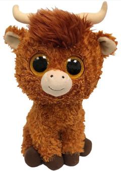TY Beanie Boo - Small Angus the Highland Cow
