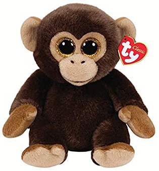 TY Beanie-Babies - Medium Bananas the Brown Monkey
