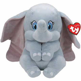 TY Disney - Small, Medium & Large Dumbo the Elephant with Sound