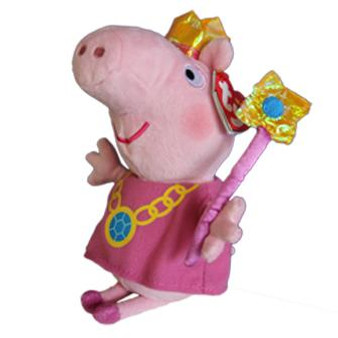 TY Beanie - Small & Medium Princess Peppa Pig