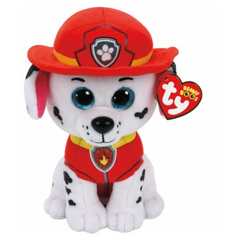 TY Beanie - Medium Paw Patrol Marshall