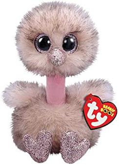 TY Beanie Boo - Small & Medium Henna the Ostrich