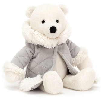 Jellycat Parkie the Polar Bear Soft Toy (RETIRED)
