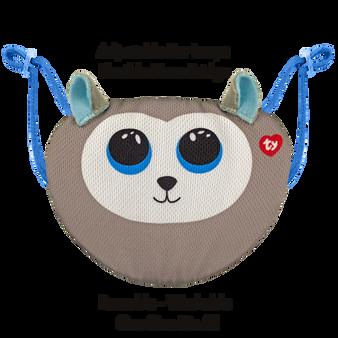 TY Beanie-Boo Face Mask - Slush the Husky Dog