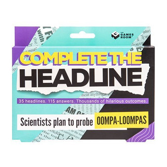 Complete The Headline Card Game