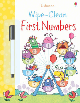 Usborne Books - Wipe-clean First Numbers