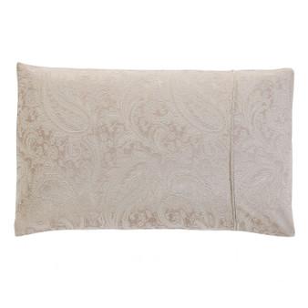 Paisley Natural Jacquard Housewife Pillowcases