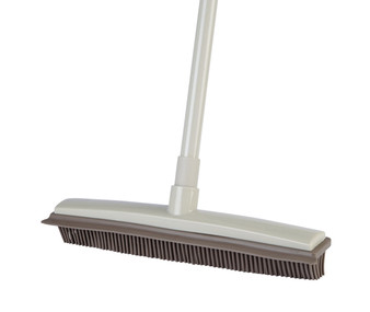 Clean Sweep Rubber Broom