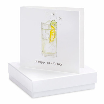 Crumble & Core - Earrings on a gift Card - G&T Happy Birthday - CE068