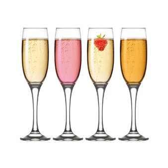 iStyle - Perfect 4 Champagne Flutes - 22cl
