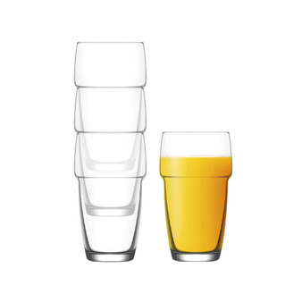 iStyle - Perfect 4 Highball Glasses - 34cl