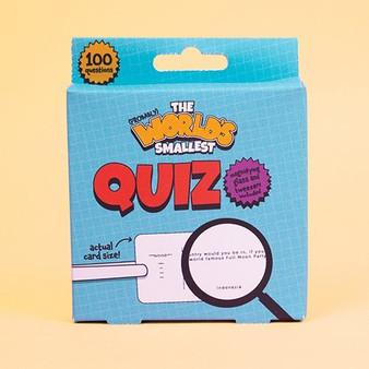 World's Smallest Quiz