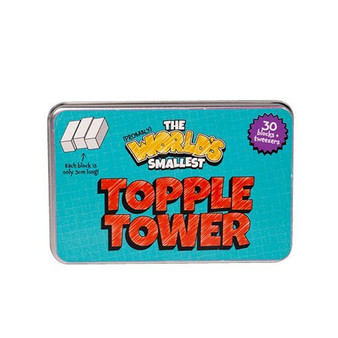 World's Smallest Topple Tower Game
