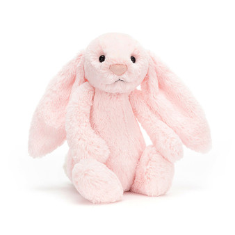 Jellycat Medium Bashful Pink Bunny Soft Toy