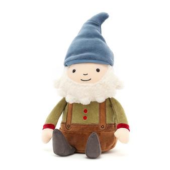 Jellycat Jolly Joe Gnome Soft Toy - Blue Hat