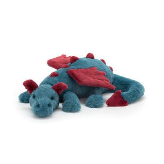 Jellycat Medium Dexter Dragon Soft Toy