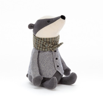 Jellycat Riverside Rambler Badger Soft Toy
