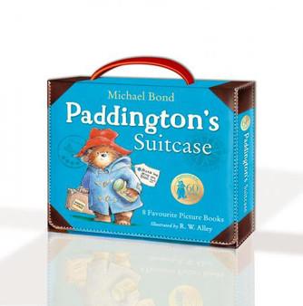 Paddington's Big Suitcase - 8 story books