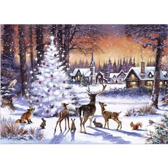Christmas Gathering - 1000 Piece Jigsaw