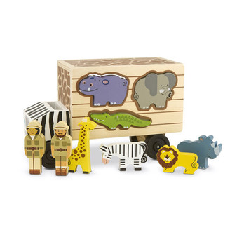 Animal Rescue Wooden Play Set & Shape Sorter
