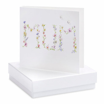 Crumble & Core - Earrings on a gift Card - Mum - CE037