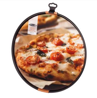 35cm Stellar Non-Stick Crispy Crust Pizza Tray