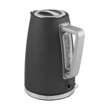 Grey Rapid Boil 1.7 Litre Salter Opulence Cordless Kettle