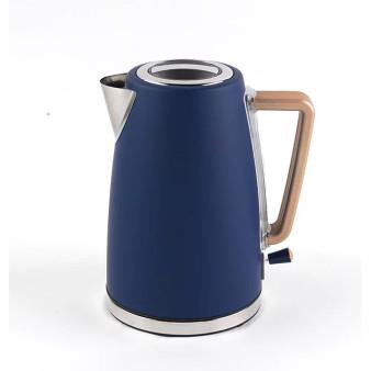 Indigo Blue Rapid Boil 1.7 Litre Salter Opulence Cordless Kettle