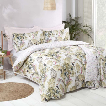 Jungle Easycare Reversible Duvet Set