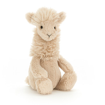 Jellycat Medium Bashful Llama Soft Toy (RETIRED)