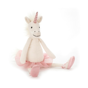 Jellycat Medium Dancing Darcey Unicorn Soft Toy (RETIRED)