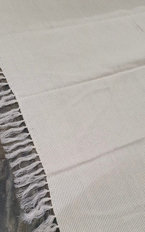 Large Riva Paoletti Throw / Blanket - Cream