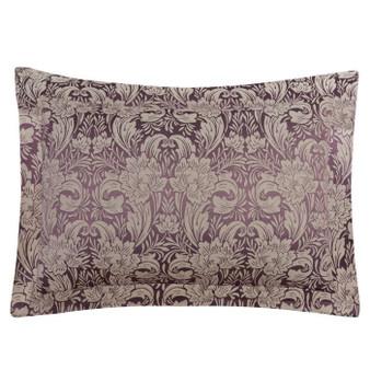 Cotswold Plum Floral Oxford Pillowcase (Pair)