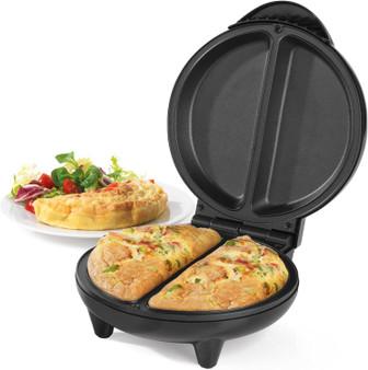 Black Salter Non-Stick Dual Omelette Maker