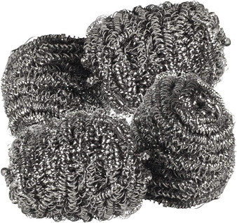 Pack of 4 Kleeneze Essential Stainless Steel Scourers