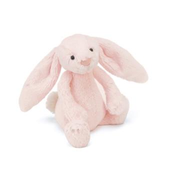 Jellycat Bashful Pink Bunny Rattle Toy