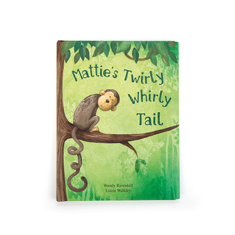 Jellycat Mattie's Twirly Whirly Tail Book (RETIRED)