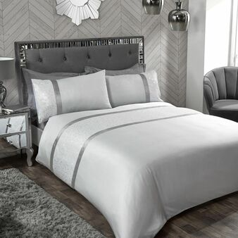 Boutique Harlow Grey Duvet Set