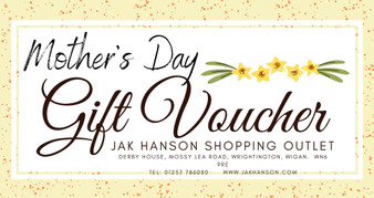 Mother's Day JAK Hanson Gift Voucher - £25 - £100