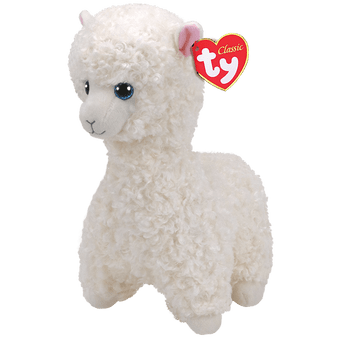 TY Beanie-Babies - Small Lily the Cream Llama