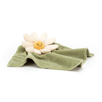 Jellycat Fleury Daisy Soother / Comfort Blanket