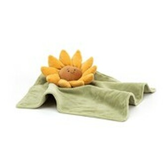 Jellycat Fleury Sunflower Soother / Comfort Blanket