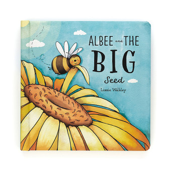 Jellycat Albee And The Big Seed Board Book