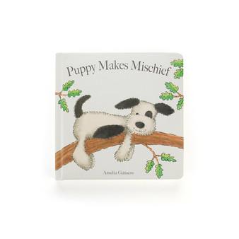Jellycat Puppy Makes Mischief Board Book